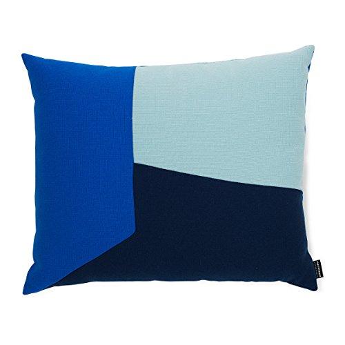 Normann Copenhagen 602358 Angle Kissen, Baumwolle-Mischgewebe, blau, 60 x 60 x 50 cm