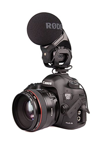 Rode Stereo VideoMic Pro On Camera Stereo Microphone