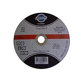 Olbrich de la Industria requisitos Disco de corte 180x 1,6mm inox, Acero inoxidable y acero, Metal, hierro