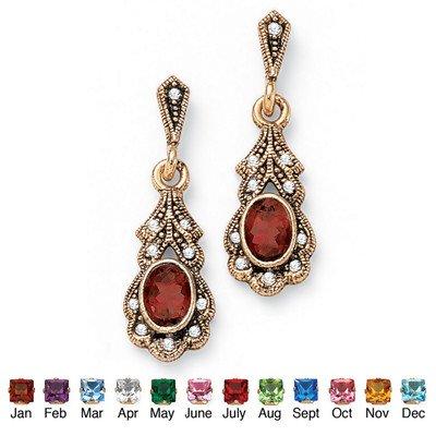 palm-beach-jewelry-taglio-pietra-anticata-sim-january-sim-orecchini-colore-rosso