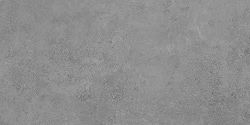 Bodenfliese Semilla Graphit | Betonoptik | anpoliert • glasiert | Fliese Graphit | Feinsteinzeug (30x60)
