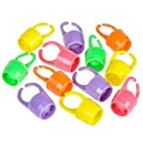 Kids Finger Ring Party Whistle, (Pack of 24 Whistles,)