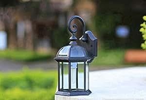 u&we U & Wir Outdoor Traditionelle Viktorianische Wall Lantern 220V Garten Sicherheit Lampe out5
