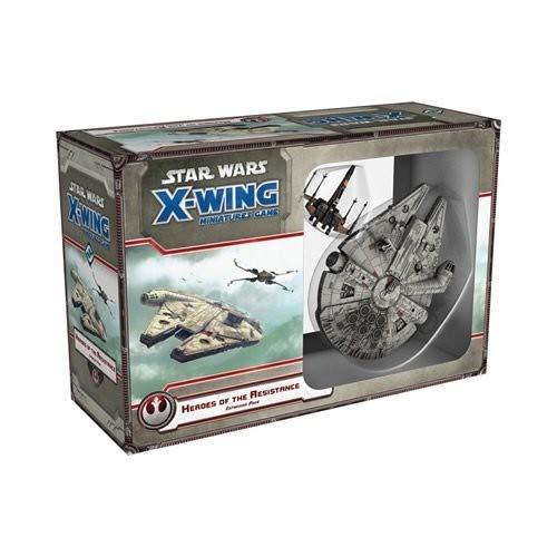 Fantasy Flight Games FFGSWX57 Star Wars X-Wing - Juego de Mesa con Figuras en Miniatura, Paquete de expansión Heroes of The Resistance (no necesariamente en español)