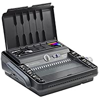 GBC MultiBind 230E Multifunctional Binder with Electric Punch (Bind Capacity up to 450 Comb Binding or 125 Wire Sheets, Punch Capacity up to 30 Sheets)
