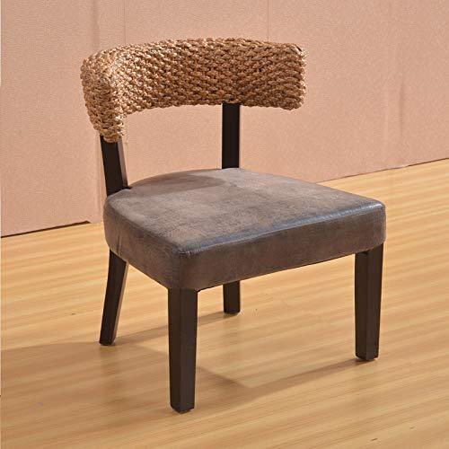 seeksungm Chair, Single Fashion rotin Armchair, Household Natural Handmade Leisure Wicker Chair (Single Piece), hC306