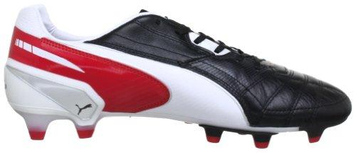 Puma King Fg, Chaussures de football homme Noir - Schwarz (black-white-ribbon red 02)