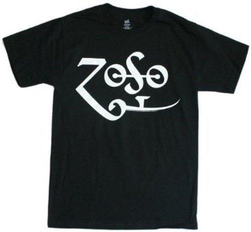 Jimmy Page - Zoso Logo Led Zeppelin T-Shirt (XX-Large)