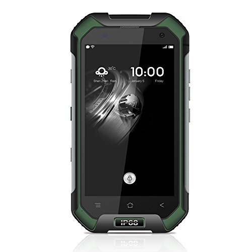 Blackview BV6000s 4G FDD-LTE IP68 impermeable 4 7inch Android 6 0 Smartphone 64Bit MT6735A Quad-core 2GB RAM 16GB ROM HD 720   1280pixel 4500mAh 8 0MP