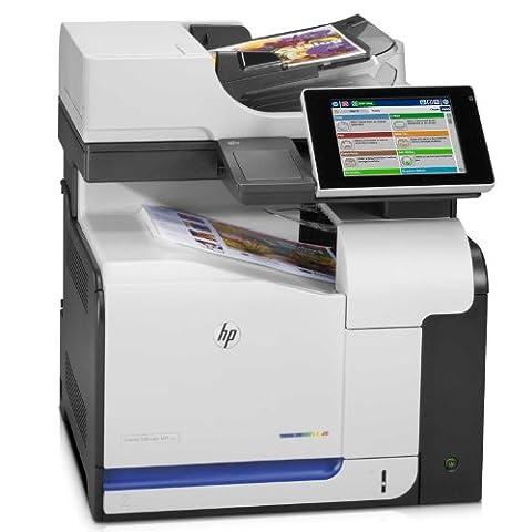 HP LaserJet Enterprise 500 M575f e-All-in-One Farblaser Multifunktionsdrucker (A4, Drucker, Scanner, Kopierer, Fax, Ethernet, USB,