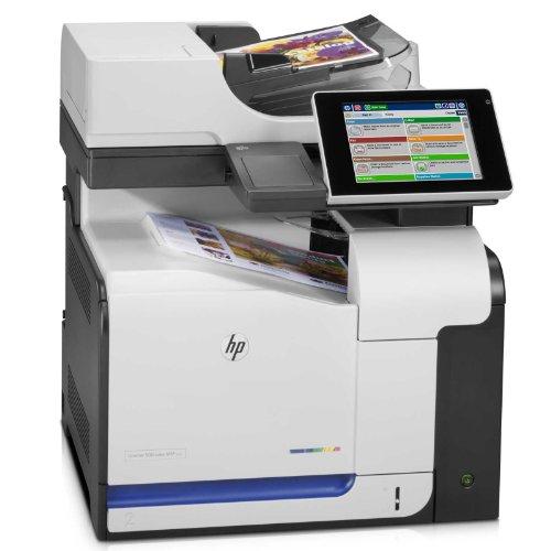 HP LaserJet Enterprise 500 M575f e-All-in-One Farblaser Multifunktionsdrucker (A4, Drucker, Scanner, Kopierer, Fax, Ethernet, USB, 600x600)