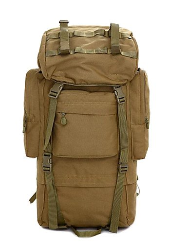 ZQ 2 L Rucksack Camping & Wandern Legere Sport Multifunktions Braun 600D Ripstop Other cp color