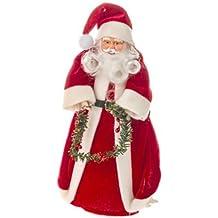 Homestreet Decoración Extra Grande para árbol de Papá Noel, Ideal para árboles más Grandes,