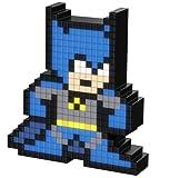 PDP Pixel Pals 013-DC Comics Batman Collectible Lighted Figure & Pixel Pals DC Comics 015-Harley Quinn et la bande dessinée sur le thème des vers/à partir de carte pour les anniversaires/cadeaux Bundle de trois