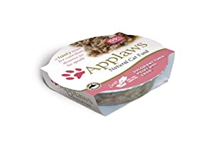 Applaws Cat Pot Succulent Tuna with Pacific Crab 60 g (Pack of 18)