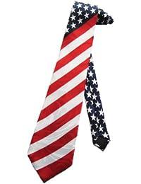 cravate Steven Harris drapeau américain - Rouge - taille unique