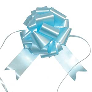 Pull Bows - 10 Pale Blue pull bows - great for pew bows, cars and gift wrapping