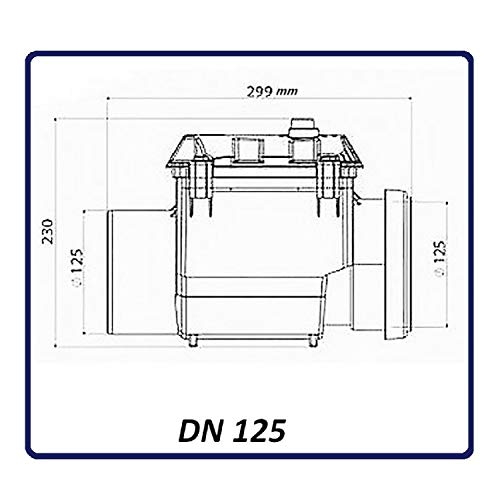 Zoom IMG-2 valvola antiriflusso dn 125 con