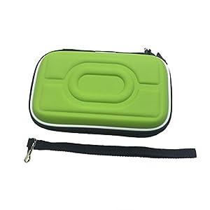 Meijunter Hart EVA Tragetasche Schutzhülle Tasche Hülle Etui für Nintendo Gameboy Advance GBA Gameboy Color GBC Konsole (Grün)