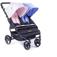 Baby Monsters Silla Gemelar Easy Twin Color Duo + Colchonetas de regalo
