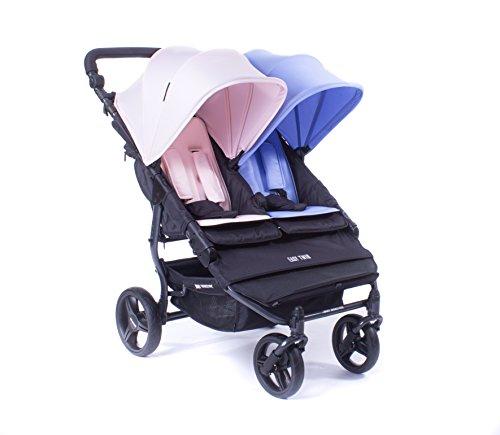 Baby Monsters Silla Gemelar Easy Twin 2 Color El y Ella + Regalo de un bolso organizador