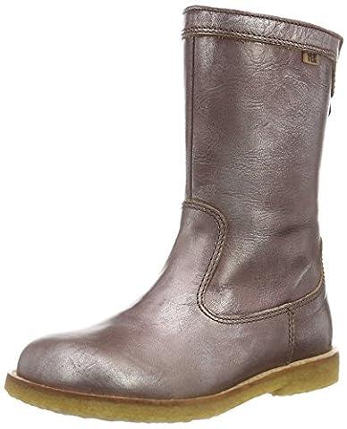 Bisgaard TEX boot 60519216, Mädchen Schneestiefel, Braun (306 Brown) 36 EU