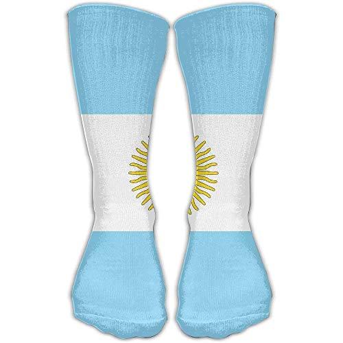 ntina Flag National Flag of Argentina Stylish Art Knee High Socks for Women &Girl ()