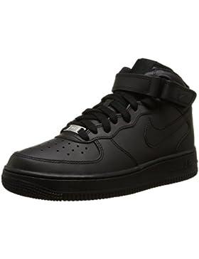 Nike Air Force 1 Mid (GS) Zapatillas de Baloncesto, Niños