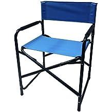 Vigor 9693520 silla director de Lina plegable, azul