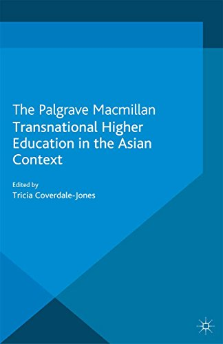 Transnational Higher Education in the Asian Context por Tricia Coverdale-Jones
