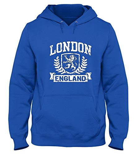 Speed Shirt Sudadera con Capucha Azul Royal TSTEM0271 London England