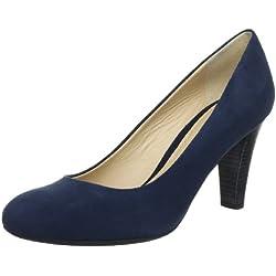 Geox Textil D MARIECLAIRE HIGH E D32T6E00021C4002 - Zapatos de vestir para mujer, color azul, talla 39