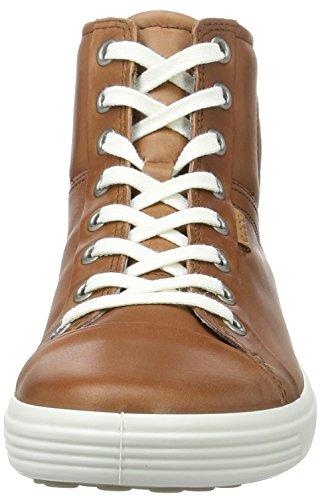 Ecco Soft 7, Sneakers Hautes Femme Marron (1195Mahogany)
