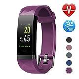 Letsfit-Fitness-Armband-Farbbildschirm-mit-Pulsmesser-Fitness-Tracker-IP68-Wasserdicht-096-Zoll-Aktivittstracker-Schrittzhler-Pulsuhren-Smart-Watch-fr-Herren-Damen-MEHRWEG