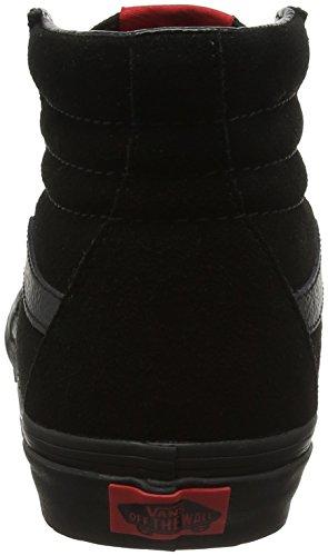 Vans Unisex Sk8-hi Classico Scamosciato / Canvas Sneaker Nero