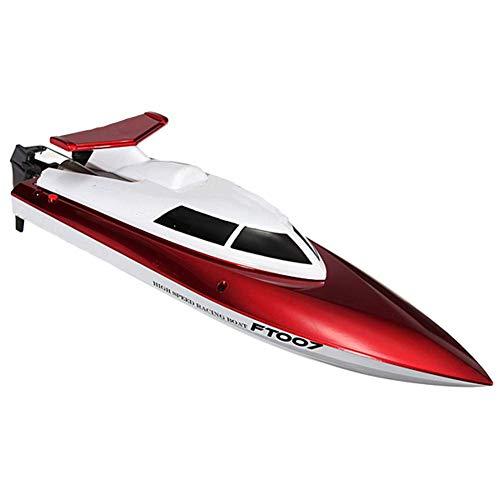 WANTOOSE RC Boote FT007 4CH 2.4G Hochgeschwindigkeitsgeschwindigkeit 25 KM/H Fernsteuerungsspielzeug für Kind