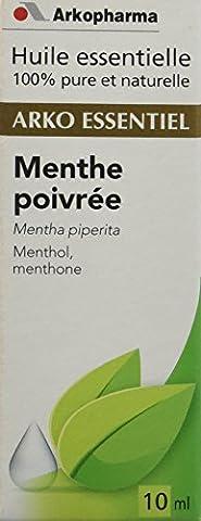 Arkopharma Huile Essentielle Unitaire Menthe Poivrée/Mentha Piperita Flacon de 10