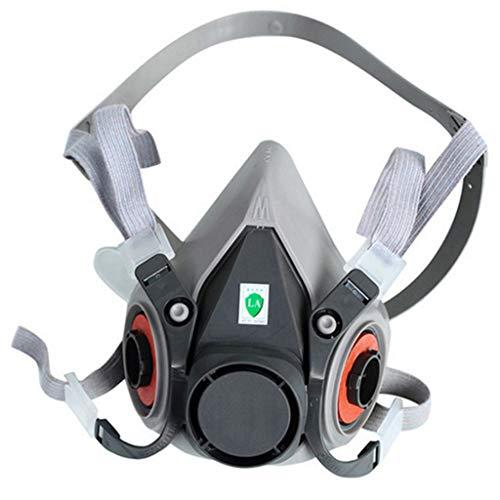 TAOtTAO Maske Atemschutzmaske Gasmaske Maske Staubmaske 6200 Hälfte