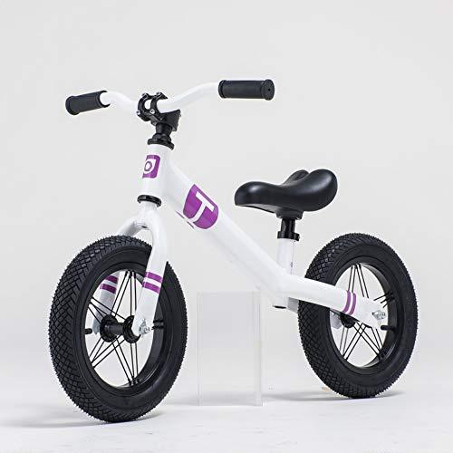 Extrem Komfortables Laufrad 12-Zoll-Luftreifen Kein Pedal Kinderfahrrad Für Jungen Und Mädchen Im Alter Von 2 Bis 6 Jahren Laufrad Für Kleinkinder Aus Magnesiumlegierung Höhenverstellbare Konstruktion
