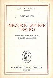 Memorie. Lettere. Teatro