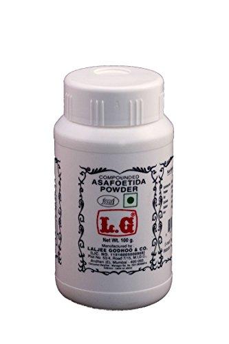 LG LALJEE GODHOO & CO. Compounded Asafoetida Powder (100 g) -Pack of 2