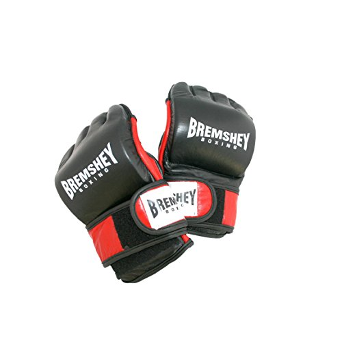 Bremshey Boxhandschuhe Sparring Heavy, schwarz/rot/weiß, M, 08BRSBO193