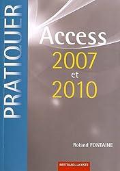 Access 2007 et 2010