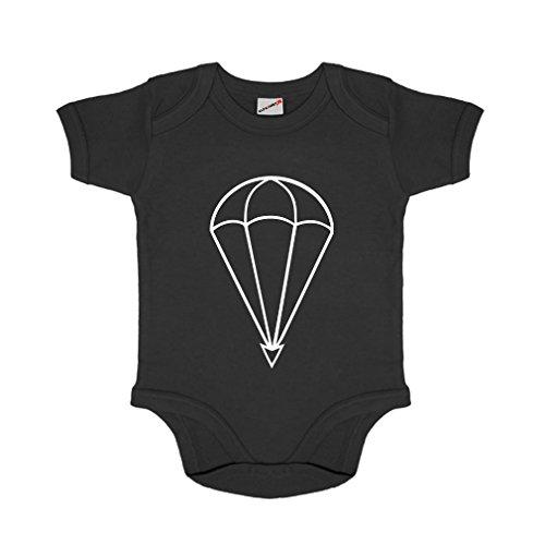 Fallschirmjäger Militär Bundeswehr Bund Bw Abzeichen - Baby Kleinkind Strampler Body Babybody #12196 (Air Kleinkinder Force T-shirt)