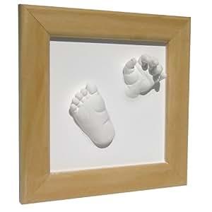 """Xplorys - 130001 - Set pour empreintes mains/pieds """"Happy Hands 3D Deluxe"""" dans emballage cadeau"""