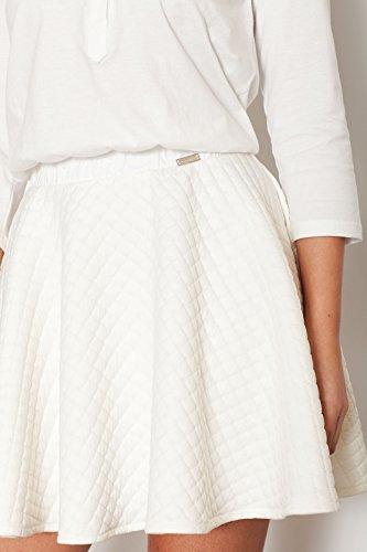 Robe féminine Katrus en maille matelassée douce Ecru