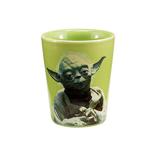 Joy Toy 99018 - Star Wars Yoda Keramik Schnapsbecher 6 cm (30 ml)