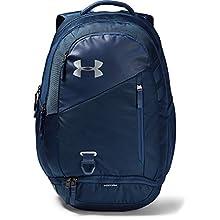 Under Armour Hustle 4.0 Backpack - Academy/ Silver (408), OSFA