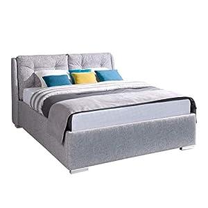 98559f07fc Doppellbett Antigo mit 2-Funktion Bettkasten, Modernes Ehebett,  Bettgestell, 4 Größen wählbar