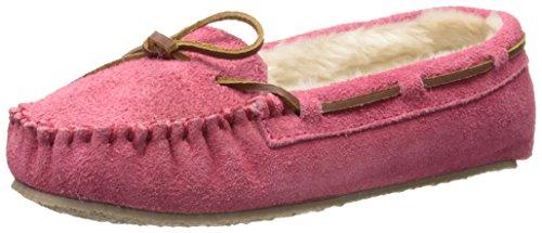 Minnetonka - 4010, Pantofole A Casa da donna Rosa (Hot PinkHot Pink)